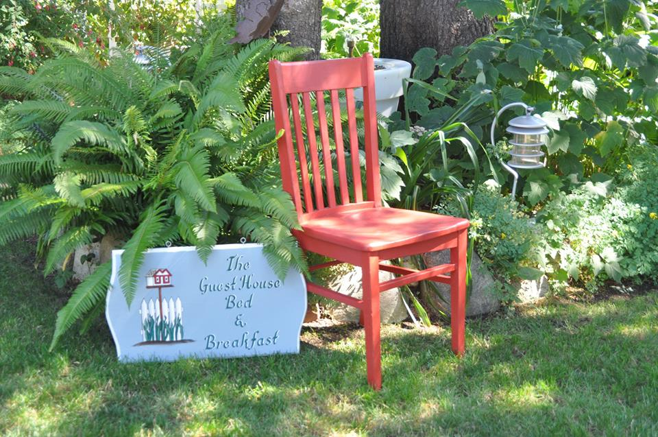 Garden Red Chair
