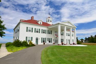 George Washington Inn Portico