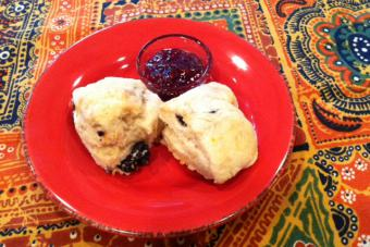 Blueberry Citrus Scones