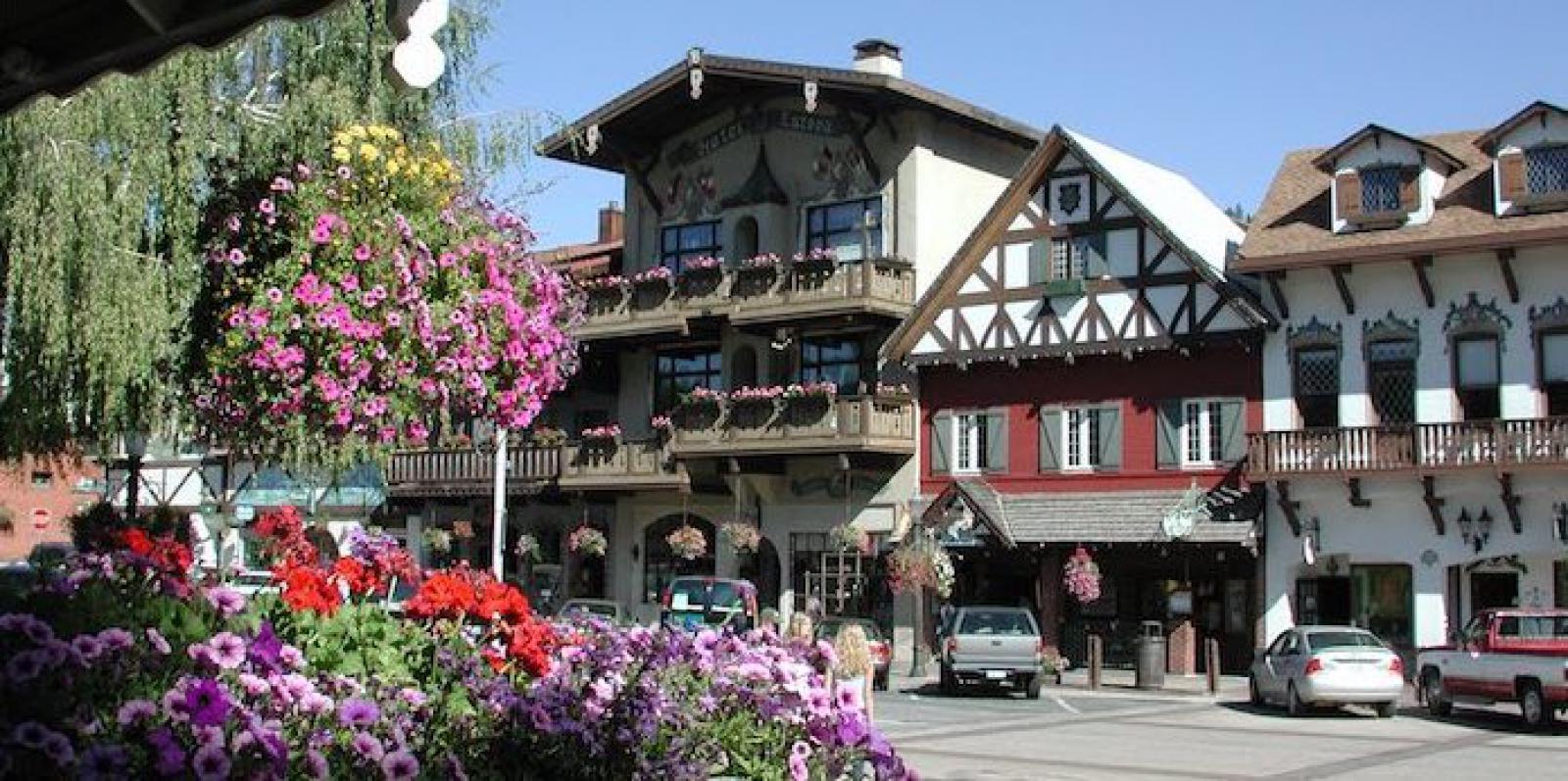 Downtown Leavenworth WA