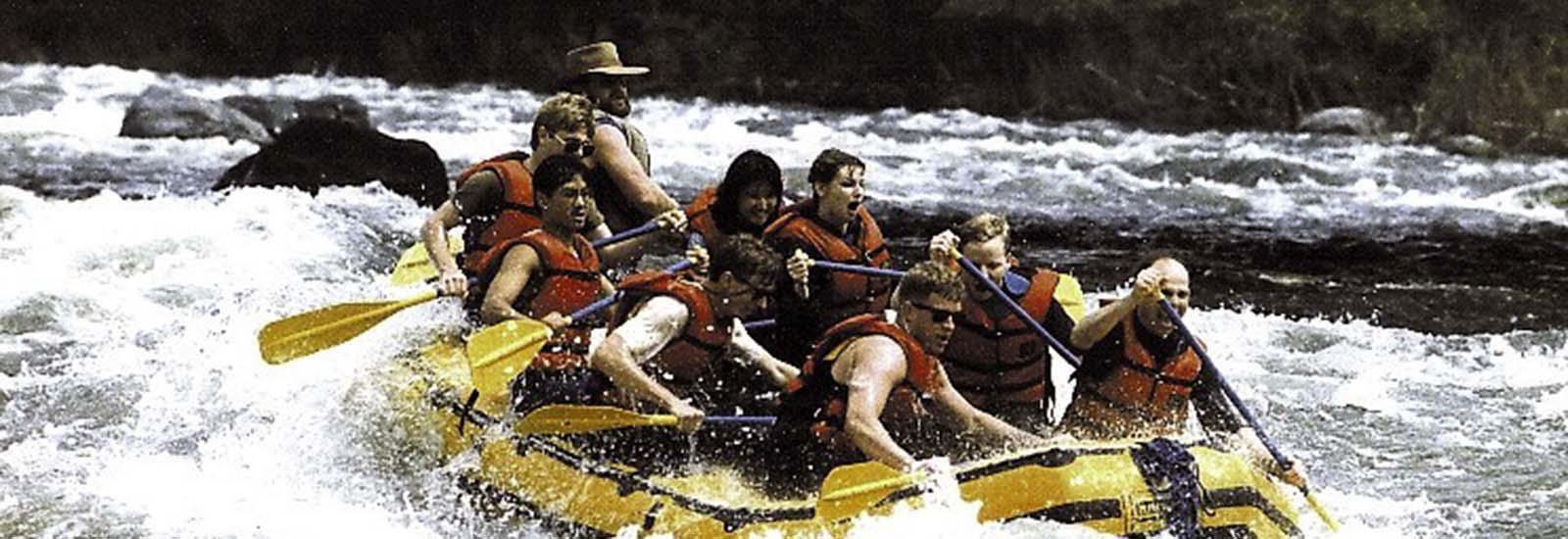Rafting Skagit River